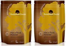 Rainforest Foods Organic Maca Root Powder 300g (Pack of 2)