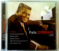 FATS DOMINO - LIVE -  CD NEUF (A2)