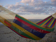 NEW COTTON Mayan PORTABLE Hammock From Yucatan Double