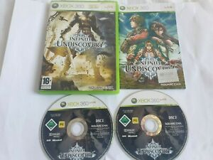 Infinite Undiscovery Microsoft Xbox 360 Game Complete FREE UK POSTAGE