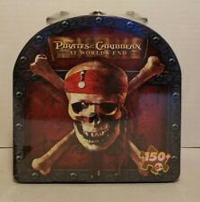 Disney Pirates of the Caribbean at World's End Puzzle in Tin W