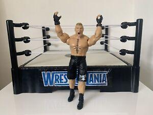 WWE Brock Lesnar Wrestling Figure Mattel Basic Series 53 WWF UFC