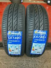 """X2 175 65 14 175/65R14 82H LANDSAIL  AMAZING """"B"""" RATING FOR WET GRIP! GREAT 69dB"""