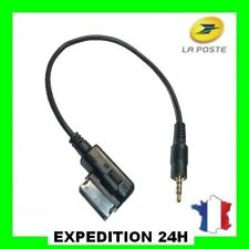 Audi Music Interface ami MMI 3.5mm Jack Aux-in Mp3 Cable A3 A4 A5 A6 A7 TT