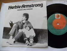 HERBIE ARMSTRONG 1983 HEAVEN ONLY KNOWS DO YOU 45RPM 7ins RECORD JUKEBOX