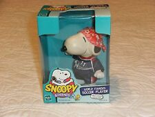 "Hasbro- Peanuts World Tour Collection. Snoopy ""Wrld Fam Soccer Player"" NEW 1999"