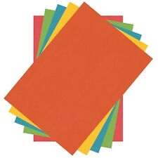 200 Sheets Of Multi Coloured A4 Thin Printer Copy Paper 80 gsm Office Art Craft