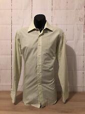 Men's Sz Med BLAQ Corporate/ Dress Shirt Class & Style Lime Green