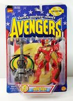 Vintage 1997 Toybiz Marvel Avengers Heroes Reborn Iron Man 7' Action Figure
