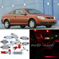For 2005-2010 Chevrolet Cobalt Premium Red LED Interior Lights Kit 7 Pieces