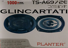 PLANTER TS- A 6972 E CASSE PER AUTO WOOFER TWEETER 6X9 1000 WATT PLANTER