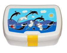Moomin Plastik Snackbox Blau Martinex