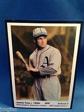 Jimmie Foxx, Philadelphia, ArtCard #5 - Baseball card of HOF player c.1920s