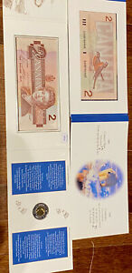 Canada 1996 Coin and Bank Note Set The Polar Bear with special serial number