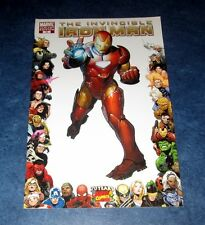 INVINCIBLE IRON MAN #16 1:10 frame variant 1st print MARVEL COMIC 1st app CHEN