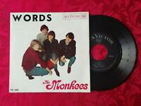 The Monkees Words + 3 Portugal PS 45 EP Garage Beat