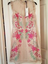 Karen Millen Embroidered Dress Size 10