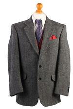 Harris Tweed Herringbone Jacket - Size L - HT1776