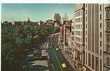 America Postcard - General View of Tremont Street - Boston Commons - Ma  ZZ2695