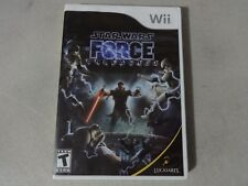 Star Wars - The Force Unleashed - Nintendo Wii Complete Free Ship
