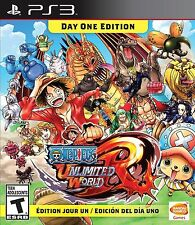 One Piece: Unlimited World Red -- Day One Edition PS3 NEW