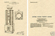 Rockola Model 1802 Jukebox Us Patent Art Print Ready To Frame! 1941 Spectravox