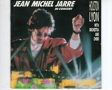 CD JEAN MICHEL JARREin concert HOUSTON LYONgerman 1987 VG++  (A1723)