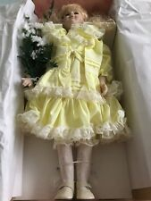 "Design Debut Collection 21"" Porcelain Doll #839-2000 ~ Samantha ~ New In Box."