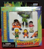 1998 Irwin Super Warriors DBZ Dragon Ball Z 6 Figure Box Set Cell Goku Trunks
