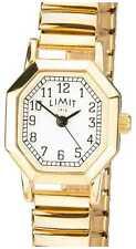 Limit   Womens Gold Tone Expandable Bracelet   Witte 6498 Horloge