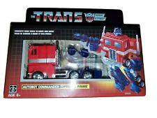 WALMART ETransformers Optimus Prime G1 Exclusive  Reissue. Pls read description