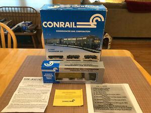 "K-Line Train RARE ""Safety Award"" Conrail Oak Island Vista Dome 55 Passenger Car"