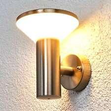 LED Außenwandleuchte Tiga Edelstahl Lampenwelt Wand Außenwandlampe Außenlampe