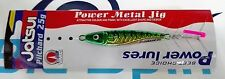 NEW METAL JIG JATSUI PILCHARD POWER LURES 25g COLOR:02 GREEN MACKEREL