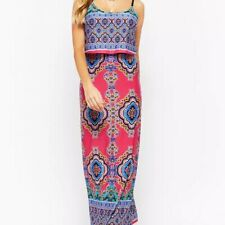 STILLETTO'S FROM FOREVER 21 ORNATE LAYERED MAXI DRESS SIZE SMALL!!!