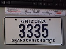 ARIZONA GRAND CANYON STATE NOVELTY PERSONALIZED VANITY LICENSE PLATE 3335