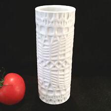 Op Art Design Vase Manufaktur Thomas Rosenthal 60er Jahre Biskuitporzellan