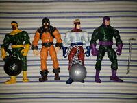 Hasbro Marvel Legends Wrecking Crew LOT Wrecker Piledriver Thunderball Bulldoze