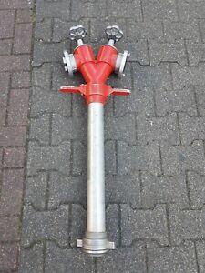 Standrohr 2xB DN80 Trinkwasserschutz DIN14375 Feuerwehr Hydrant Wasserklauer