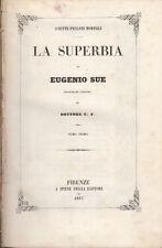 FILOSOFIA SUE EUGENIO LA SUPERBIA 1851