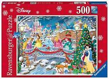 Ravensburger Disney Princess Christmas 500 Piece Jigsaw Puzzle Family Kids Gift