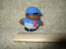 Vintage Little Tikes tots Chunky People toddle aa dad man boy house home bus toy