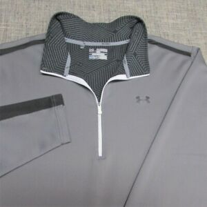 UNDER ARMOUR COLF GEAR  1/4 ZIP POLY SPANDEX GOLF PULLOVER--2XL--FLAWLESS!!