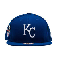 on sale 95493 8f276 Kansas City Royals Blue AL Patch New Era 9FIFTY MLB Retro Vintage Snapback  Hat