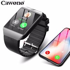 Bluetooth Smart Watch Smartwatch DZ09 Android Phone Call Relogio 2G GSM SIM TF C