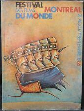 1986 FESTIVAL DES FILMS MONTREAL Du MONDE-Sept. 21, 1986 - STAND BY ME PREMIERE