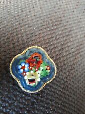 Vintage Italian Micro Mosaic Brooch.