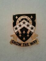 Authentic US 5th Army NCO Academy Unit DI DUI Crest Insignia D-21