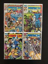 4 Issue Lot - Limited Series Mys-Tech Wars 1 2 3 4 X-Men Avengers Wolverine