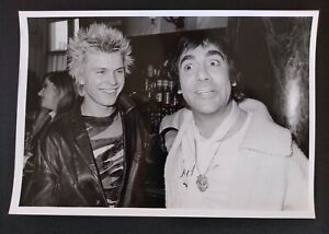 KEITH MOON BILLY IDOL GENERATION X RARE ORIGINAL PHOTOGRAPH The Who damned punk